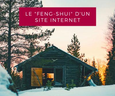 Le «feng shui» et la création d'un site internet